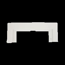 Bela plastična maska za kuhinjski vakuum panel