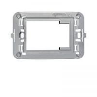 Adapter za Ave ALLUMIA telo utičnice, svetlo sjajni metalik sivi